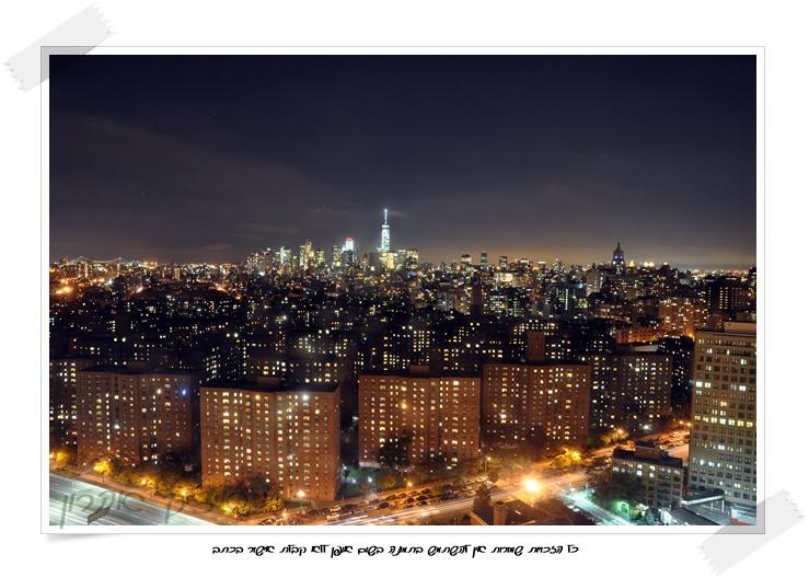 ניו יורק בלילה | צילום : איציק אהרון
